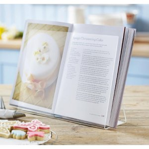 Lakeland perspex cookbook holder