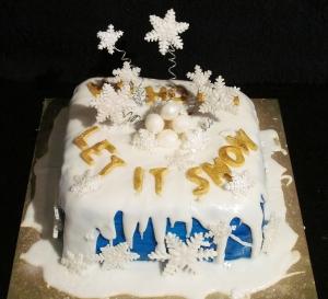 Kim's Christmas Cake 1