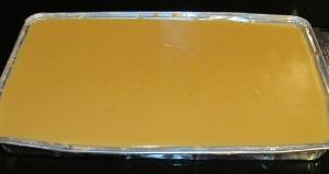 Kim's Billionaire's Shortbread caramel middle