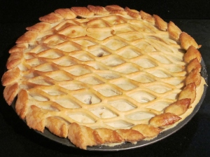 Kim's baked apple pie