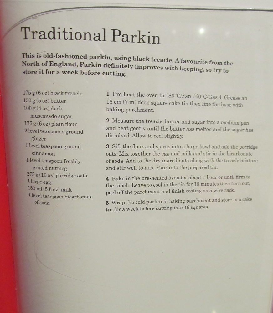 Week Twenty Three - Mary Berry's Traditional Parkin (1/2)