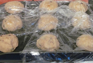 Kim's buns final rising!