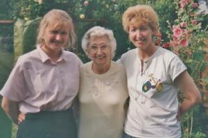Kim, her Nan & Mum