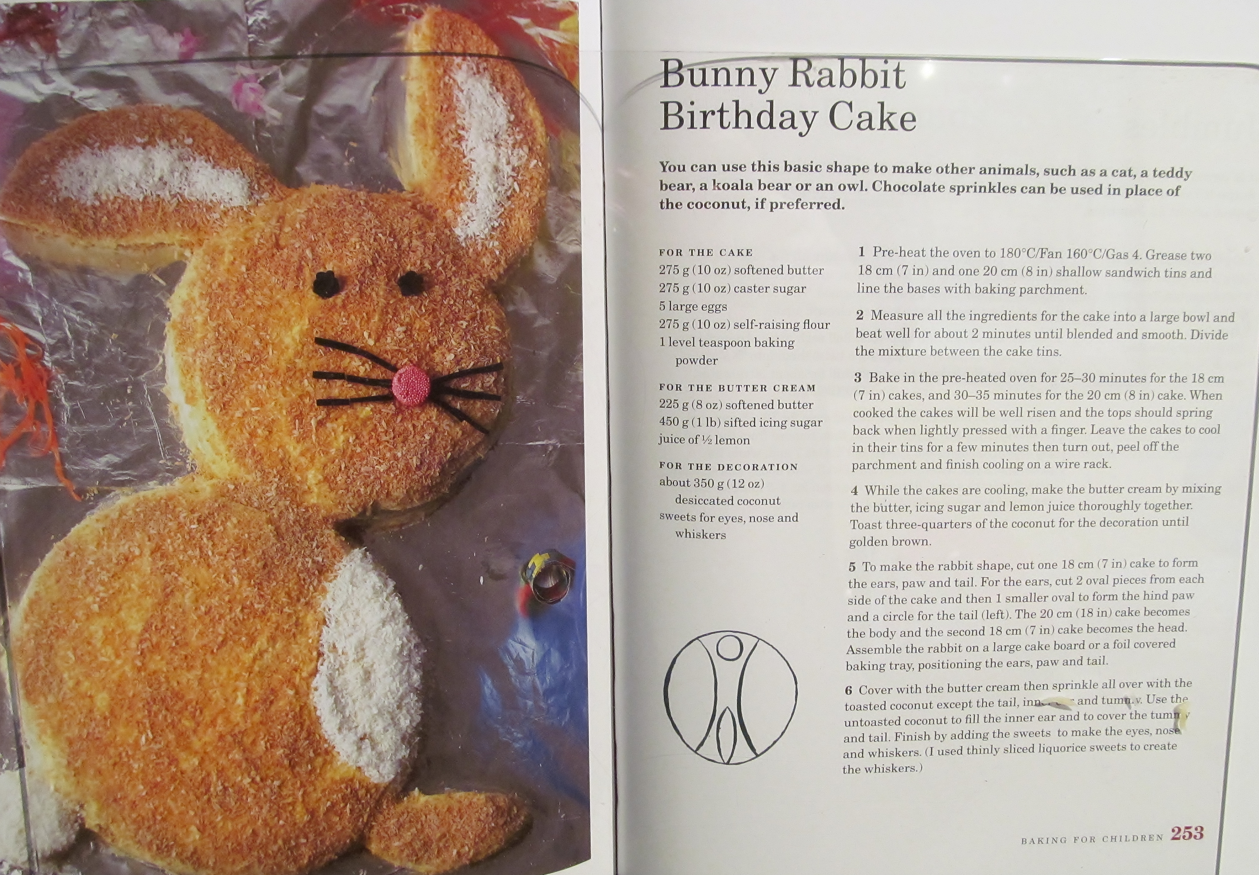 Week Twenty Eight Mary Berrys Bunny Rabbit Cake Easter Biscuits