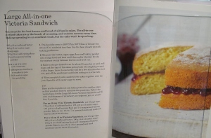Mary Berry's large all in one victoria sandwich cakee