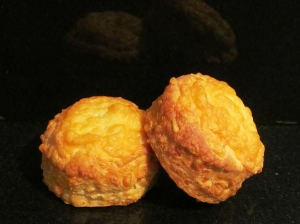 Kim's cheese scones