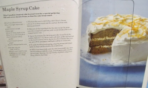 Mary Berry's Maple Syrup Cake