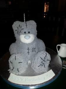 Kim's Birthday Cake