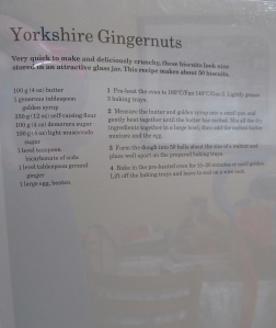 Mary Berry's Yorkshire Gingernuts recipes