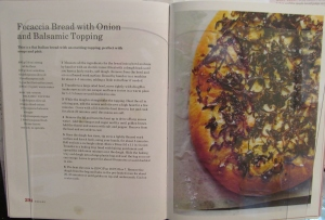 Mary Berry's Focaccia Bread with Onion & Balsamic Topping