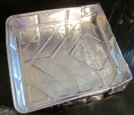 Kim's improvised Lakeland traybake tin