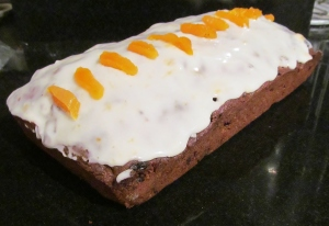 Kim's Iced Apricot Fruit Loaf