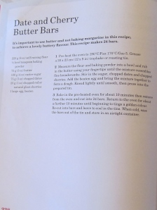 Mary Berry's Date & Cherry Butter Bars