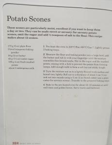 Mary Berry's Potato Scones
