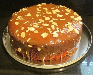 Kim's Almond Spice Cake
