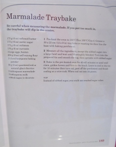 Mary Berry's Marmalade Tray Bake