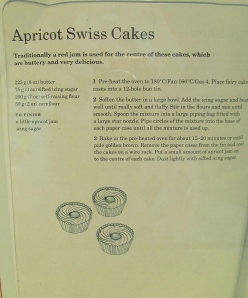 Mary Berry's Apricot Swiss Cakes