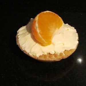 Kim's lemon cream tartlet