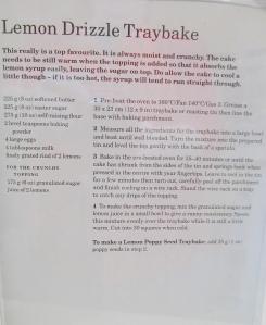 Mary Berry's Lemon Drizzle Tray Bake