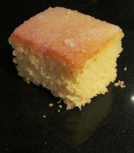 Kim's Lemon Drizzle Tray Bake