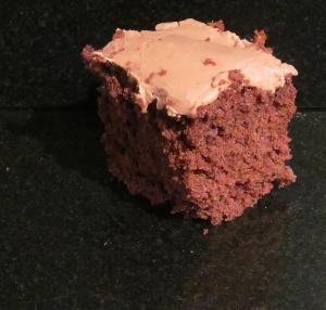 Kim's Iced Chocolate Tray Bake