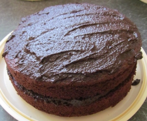 Kim's Very Best Chocolate Fudge Cake