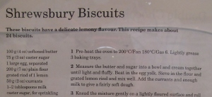 Mary Berry's Shrewsbury Biscuits