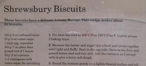 Mary Berry's Shrewsbury Biscuits