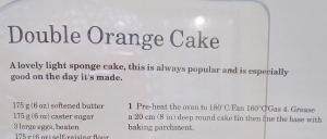 Mary Berry's Double Orange Cake