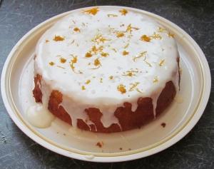 Kim's double orange cake
