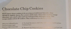 Mary Berry's Chocolate Chip Cookies Recipe