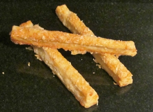 Kim's cheese straws.