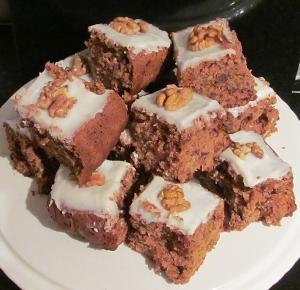 Kim's Date & Walnut Tray Bake