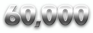 60000 visitors