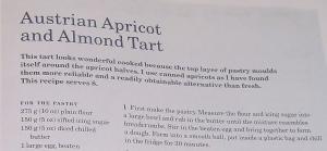 Mary Berry's Austrian Apricot & Almond Tart