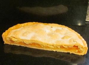 Austrian apricot & almond tart