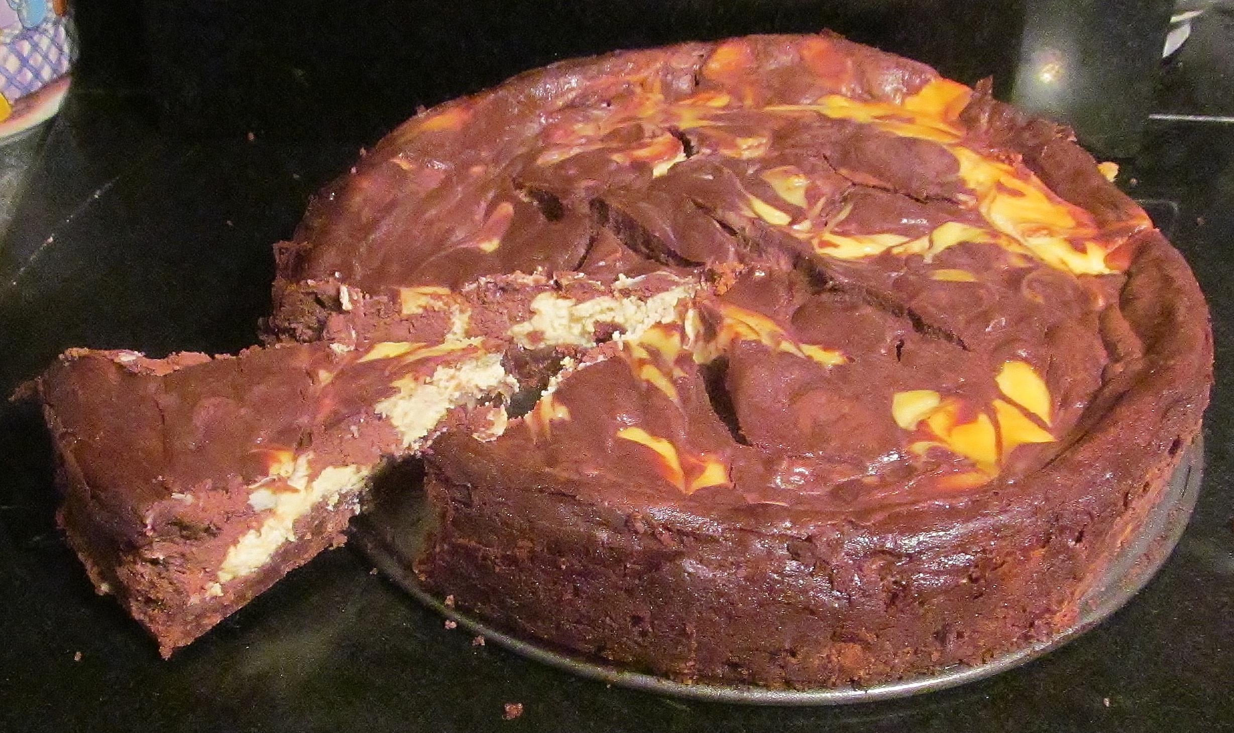 Mary Berrys American Chocolate Ripple Cheesecake