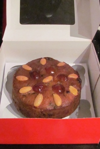Kim's victorian christmas cake