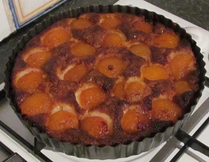 Kims sticky apricot pudding