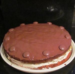 Kim's Nusskuchen cake