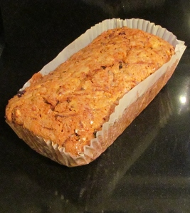 Kim's courgette loaf