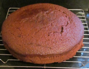 Kim's sticky ginger & orange cake