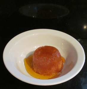 Kim's treacle pudding