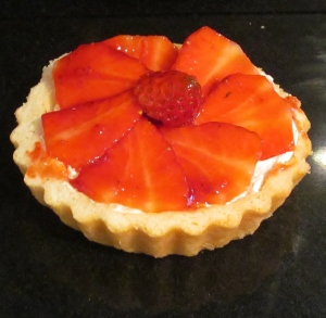 Kim's fruit tartlet