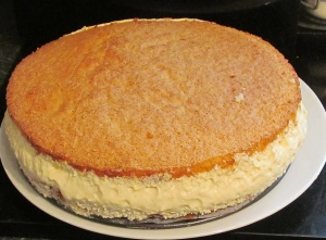 Kim's Angel Sponge Cheesecake