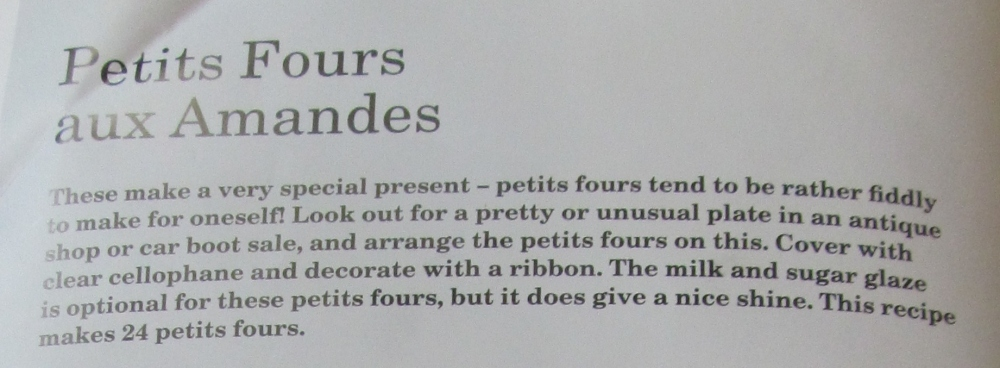 Week One Hundred & Twenty Four - Mary Berry's Lemon Griestorte & Petits Fours Aux Amandes (3/6)