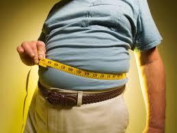 shrinking waistline