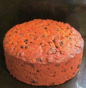 Kim's boozy fruit cake