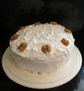 Kim's walnut layer cake