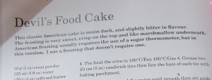 Mary Berry's Devils food cake